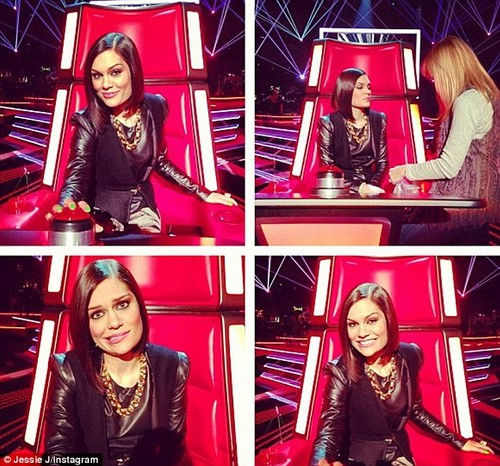 Jessie during The Voice auditions <3