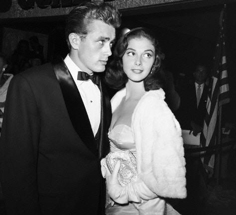 James Dean wallpaper possibly with a business suit and a dress suit entitled Jimmy with Pier Angeli