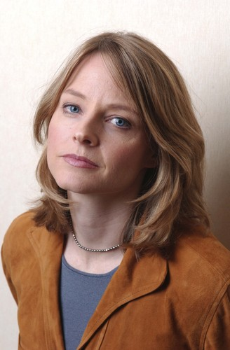 Jodie Foster achtergrond probably containing an outerwear, an overgarment, and a portrait called Bradley Patrick Photoshoot 2005
