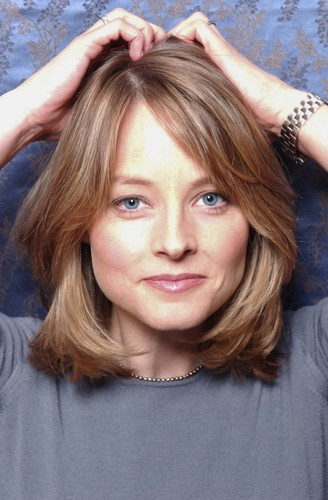 Jodie Foster wallpaper possibly containing a hood, an outerwear, and a portrait titled Bradley Patrick Photoshoot 2005
