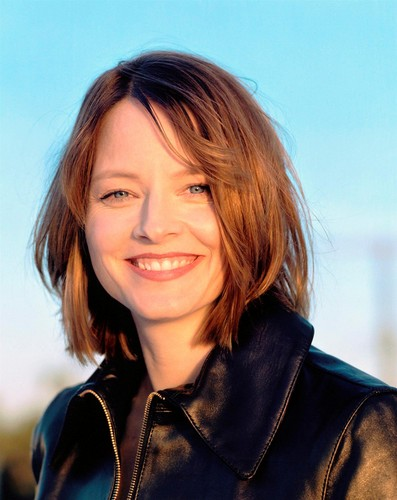 Jodie Foster Hintergrund possibly containing an overgarment entitled Jodie Foster
