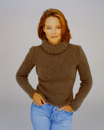 Джоди Фостер Обои possibly with a pullover and a кардиган called Jodie Foster