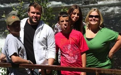 Josh with family & mga kaibigan