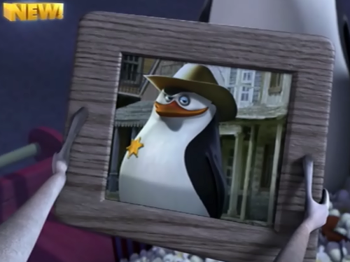 Julien has a picture of Skipper? :O
