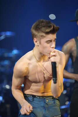 Justin at Jingle Ball