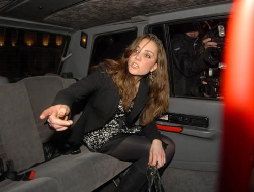 Kate Middleton Boujis Nightclub _2008