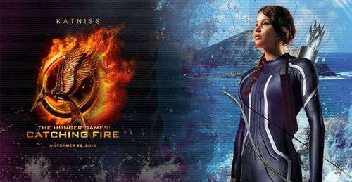 Catching Fire wallpaper titled Katniss-Catching Fire