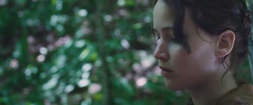 Katniss Everdeen in The Hunger Games