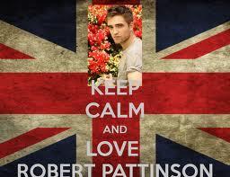 Keep Calm and 사랑 Robert Pattinson