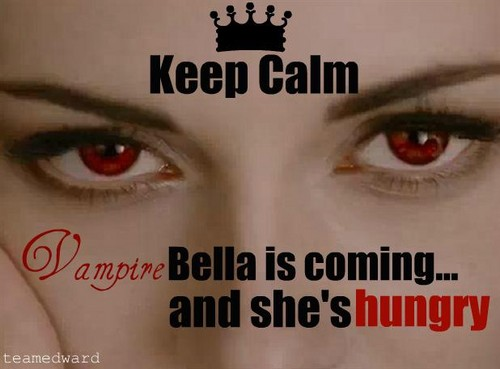 edward dan bella wallpaper probably with a portrait called Keep Calm...