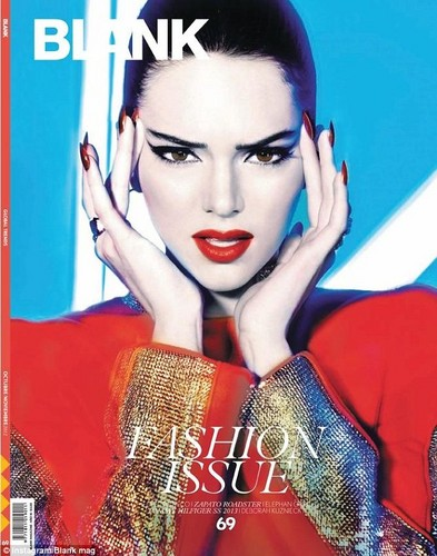 Kendall Jenner Blank Cover