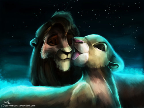 The Lion King 2:Simba's Pride wallpaper titled Kiara & Kovu