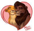 Kiara and Kovu - the-lion-king-2-simbas-pride fan art