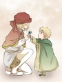 Kid!France and England - hetalia-france photo