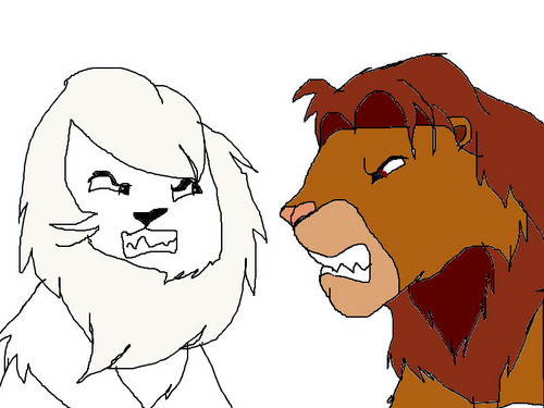 Kimba VS Simba remake