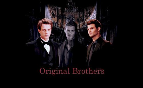 The Originals پیپر وال with a business suit and a well dressed person called Kol Klaus Elijah