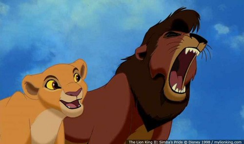 The Lion King 2:Simba's Pride wallpaper with anime called Kovu Roaring