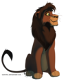 Kovu - the-lion-king-2-simbas-pride fan art