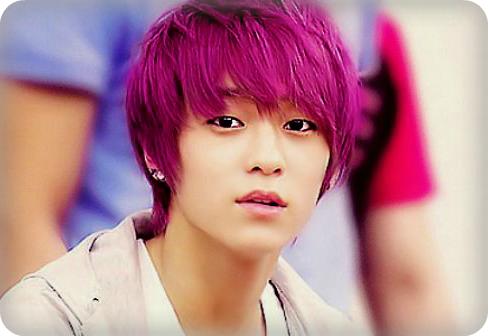 Ljoe Purple Hair