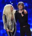 Lady Gaga performing with The Rolling Stones - lady-gaga photo