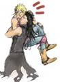 Laxus and Gajeel - fairy-tail-yaoi fan art