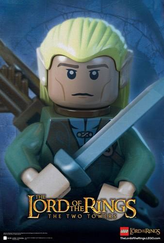 Legolas Lego collection poster