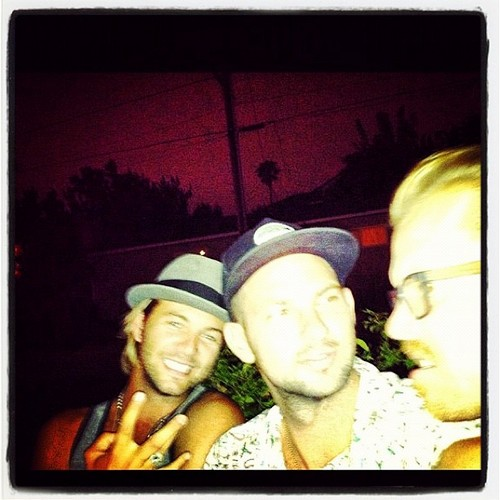 Keith Harkin wallpaper possibly with a sign entitled Life in Cali