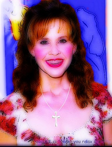 The Linda Blair Pretty Corner achtergrond possibly containing a portrait entitled Linda Blair