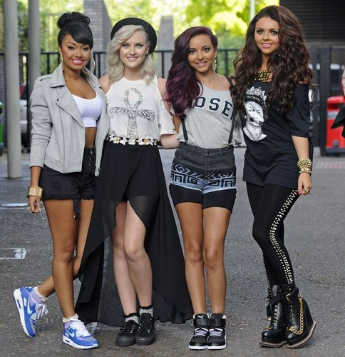 Little Mix wallpaper possibly containing bare legs, hot pants, and a hip boot entitled Little Mix