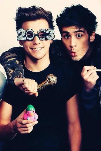 Lou and Zayn