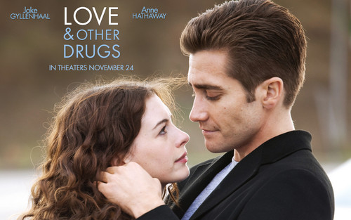 Movie Couples wallpaper containing a business suit titled Love and other drugs