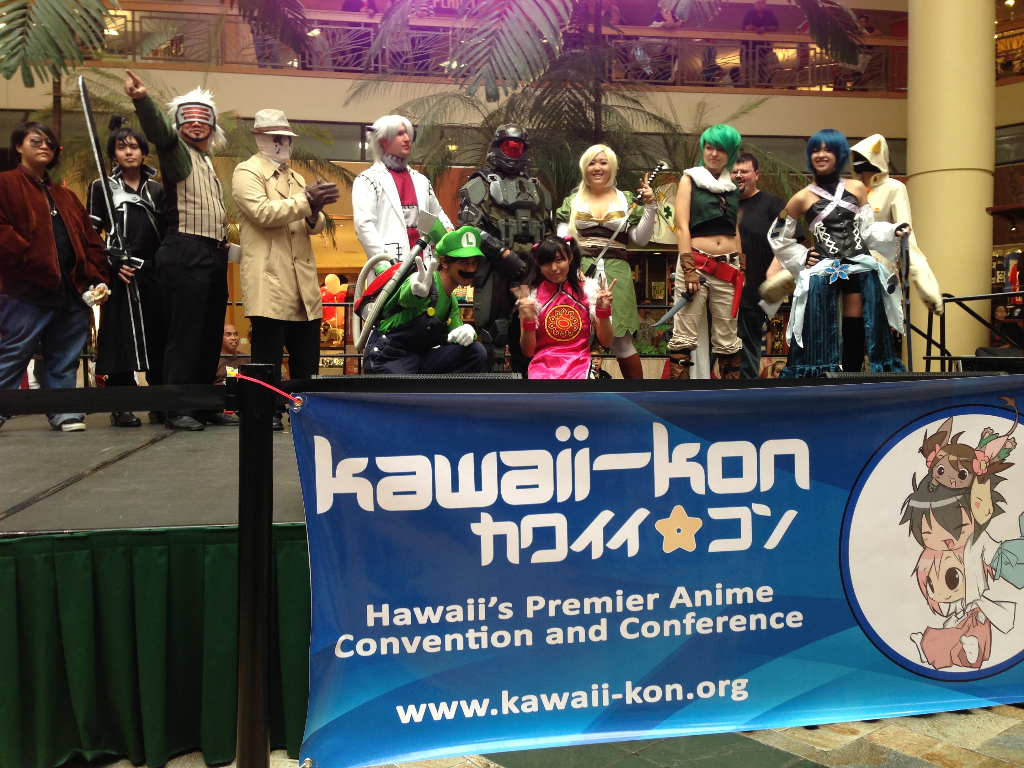 Luigi and Friends @Kawaii Kon Anime Day