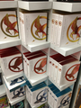 Luxury editions of The Hunger Games trilogy - mockingjay photo