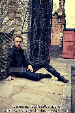 Tom Felton wallpaper containing a chainlink fence called Matt Holyoak (2012)