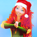 Merida Christmas icon