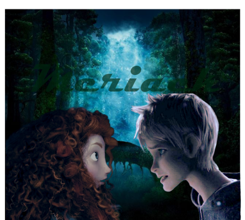 Merida and Jack Frost