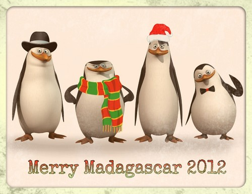 Penguins of Madagascar images Merry Madagascar 2012 HD ...