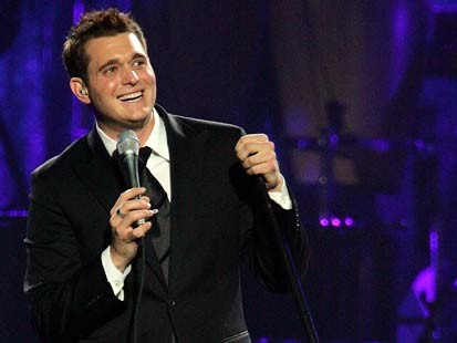 Michael Bublé वॉलपेपर containing a business suit entitled Michael Bublé