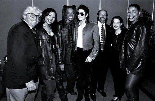 Michael Jackson lisa marie and Rnb group brownstone 1994,rare
