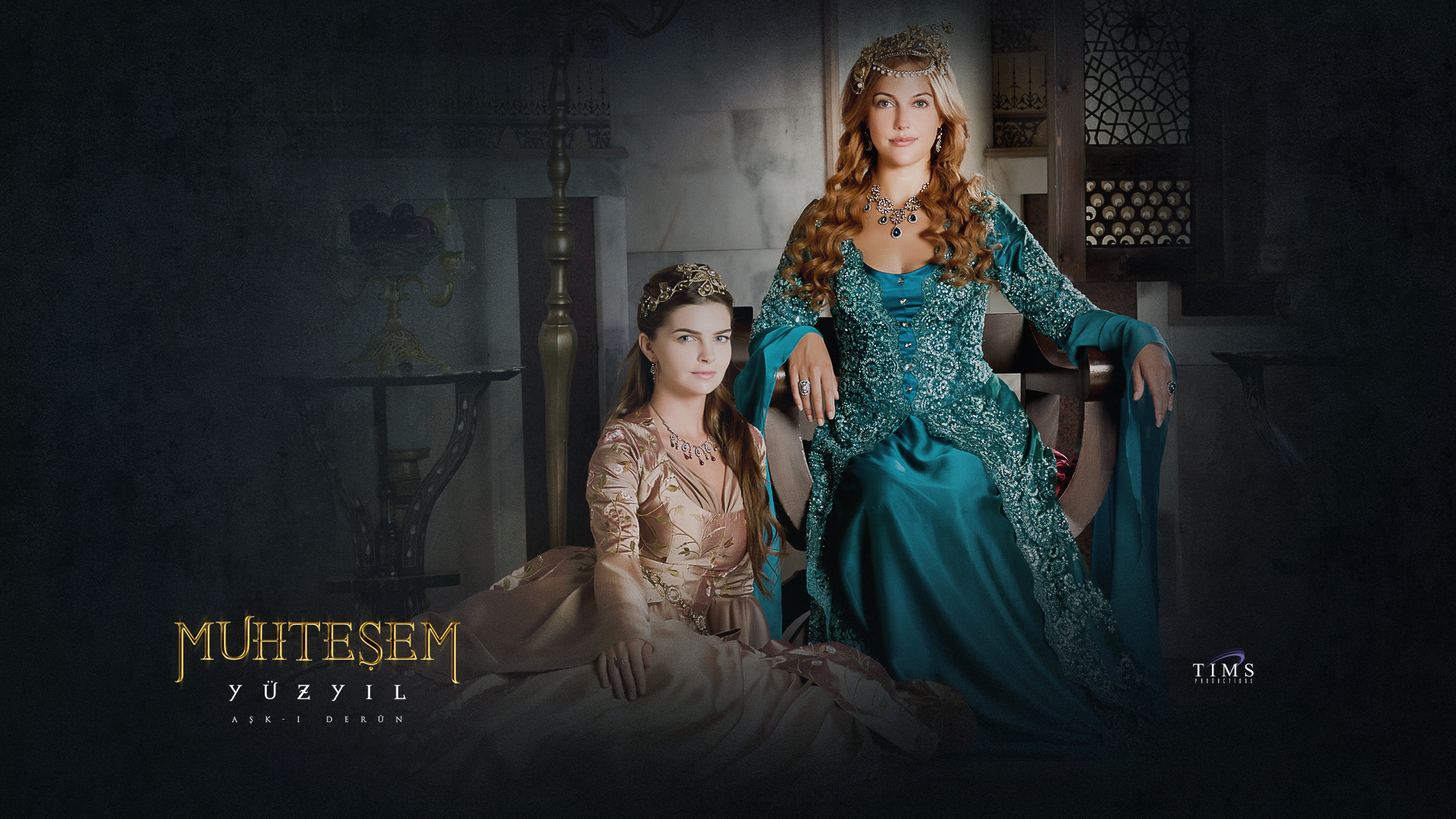 Yüzyil - Magnificent Century Mihrimah Sultana and Hurrem Sultana