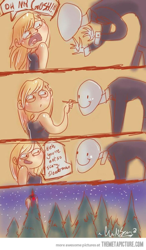 The slender man more comics