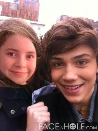 My editar with George