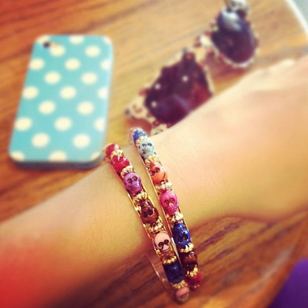 My skull bracelet