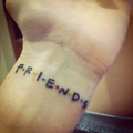 My tattoo - friends photo