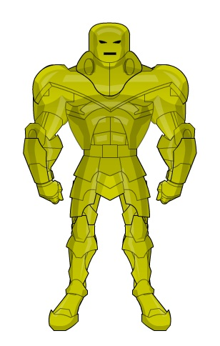 Nicholas Da Vinci armor