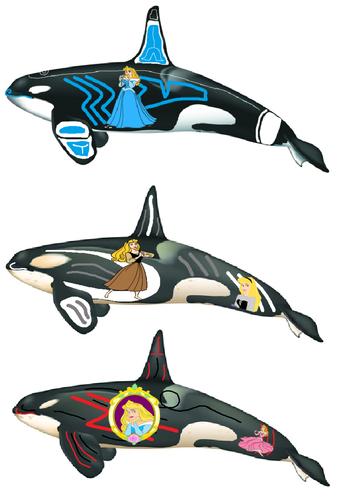 Nova & his two Antarctic cousins