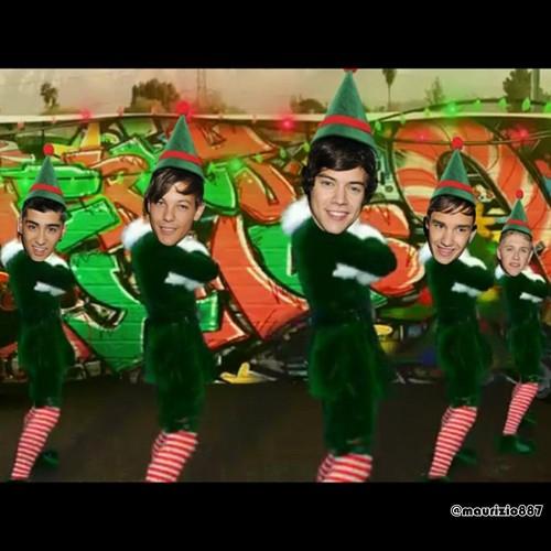 One Direction navidad Dance
