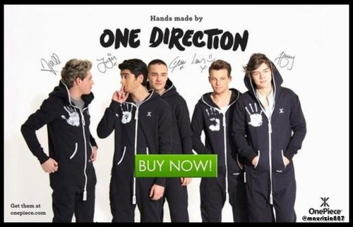 Onepiece ,Hands da One direction