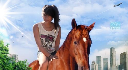 Paris Jackson Horse (@ParisPic)