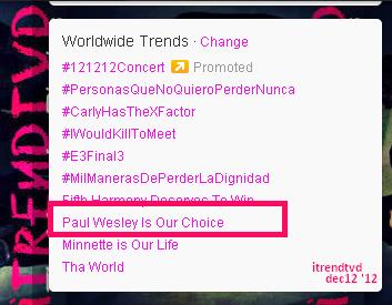 Paul Wesley trend